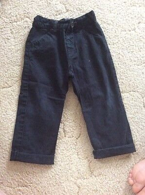 Matalan boys Trousers Size 12-18 Months GOOD CONDITION