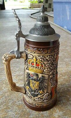 Antique Beer Stein - Made In Germany