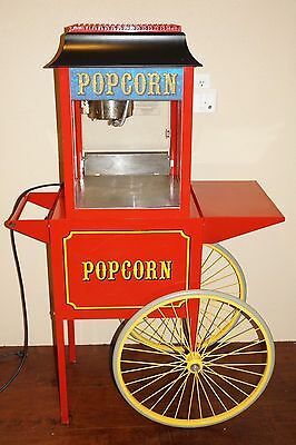 Paragon 4oz Popcorn Machine with Base / Cart (Model: 1911)