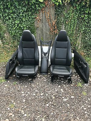 BMW Z4 E89 Both Seats Interior In Black  Leather  2009-2016