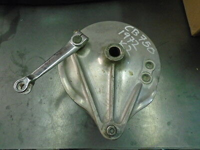 1972 Honda Cb 750 K2 Rear Brake Plate With Shoes