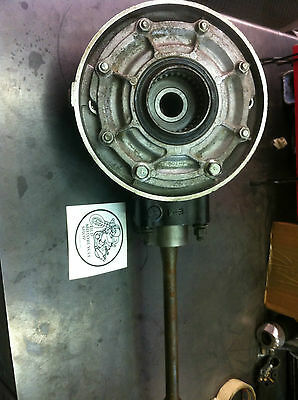 Yamaha 1981 XJ650 SECA TURBO  Final Drive Gear Rear Differential / Drive Shaft