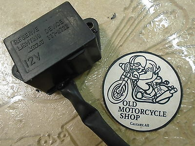 """KOITO"" 1981 Kawasaki GPZ550 12V Reserve Lighting Device OEM 337-11722"