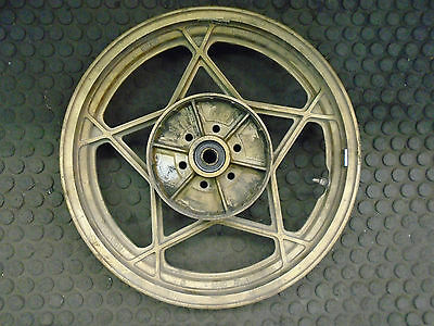 1982 SUZUKI KATANA GS1100 REAR WHEEL  FACTORY  O.E.M.  17x2.50