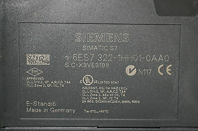 BRAND NEW - Siemens Simatic S7 6ES7 322-1HH01-0AA0 Output Module