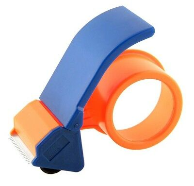 "1 Parcel Quality Tape Gun Dispenser Cutter Parcel Hand Cutter Orange 2"" 50Mm"