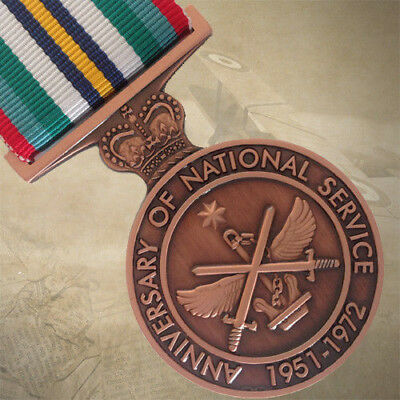Anniversary Of  Australian National Service 1951-1972 Medal | Defence | Force