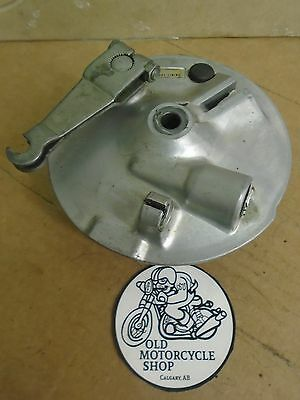78-80 Yamaha GT80 Front Brake Drum Plate Assembly
