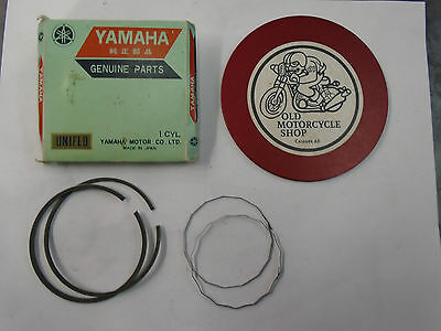 YAMAHA PISTON RINGS  72-73  AT3/ CT3   314-11610-00  Standard size.