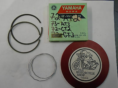 YAMAHA PISTON RINGS  72-73  AT3/ CT3   314-11610-10   0.25  1st oversize