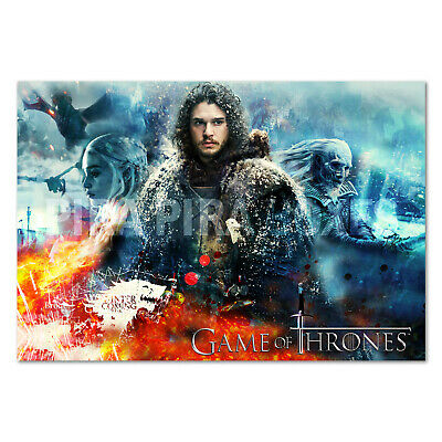 Game of Thrones Poster - Collage Art Design - High Quality Prints