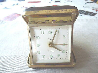 """Vintage Aristocrat Artco Luminous Wind Up Alarm Clock """" AWESOME COLLECTABLE """""""