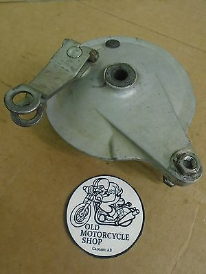 78-80 Yamaha GT80 Rear Brake Drum Plate Assembly