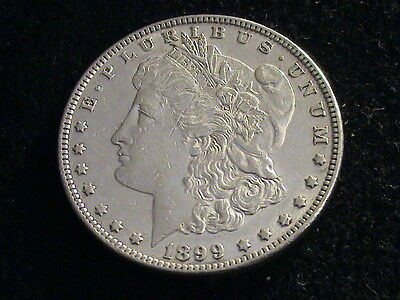 1899 P Morgan Silver Dollar, key date   S500