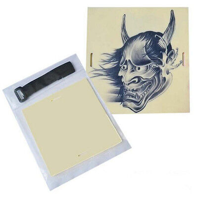 Learning Blank Tattoo Tattooing Fake False Practice Skin 20x15cm Synthetic