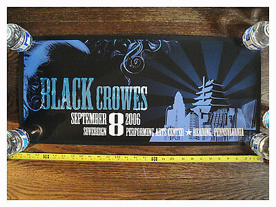 Black Crowes Poster Chris ROBINSON, READING PENNSYLVANIA 2006 CONCERT CRB