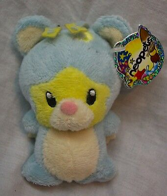 "NEOPETS Pet Pets SOFT BLUE ONA 4"" Plush STUFFED ANIMAL Toy NEW w/ TAG"