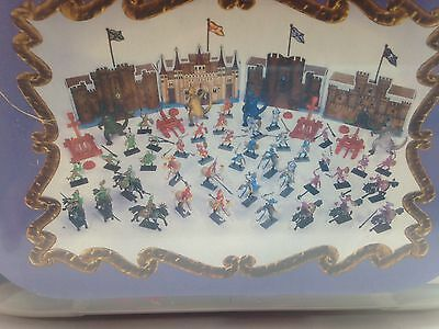 New Kids 120 Pcs Soldier Dragon Figurines Medieval Times Set Knight Fantasy Toys