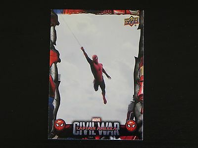 2017 UD Spider-Man Homecoming Civil War Images CW8 WALMART EXCLUSIVES