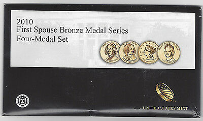 2010 First Spouse Bronze Medal Series - Four-Medal Set