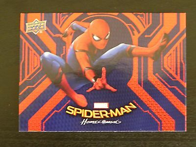 2017 UD Spider-Man Homecoming RB-6 Spider-Man WALMART EXCLUSIVES