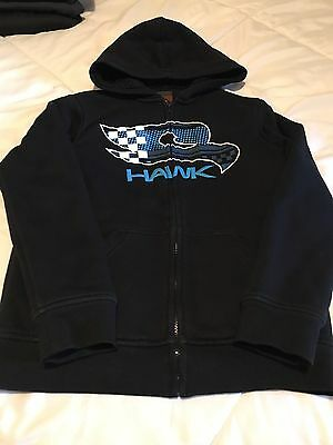 Tony Hawk Boy's Zip Up Hooded Sweatshirt Size Medium 10/12