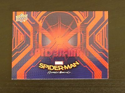 2017 UD Spider-Man Homecoming RB-21 Spider-Man WALMART EXCLUSIVES