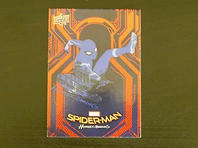 2017 UD Spider-Man Homecoming RB-48 Spider-Man WALMART EXCLUSIVES