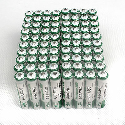 Pack of 80 Pcs AAA 1350mAh Rechargeable 1.2V NiMh BTY  Batterie 3A Set