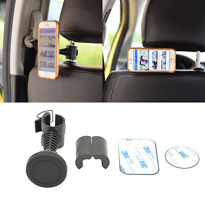 Universal 360° Rotation Car Seat Back Headrest Magnetic Holder Stand For iphone