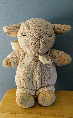 "Cloud B Sleep Sheep Lamb Sound Machine Soother Baby 4 Sounds Timer Plush 11""  P3"