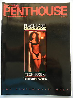June 1989 Black Label Australian Penthouse Magazine - Subscriber Only Edition
