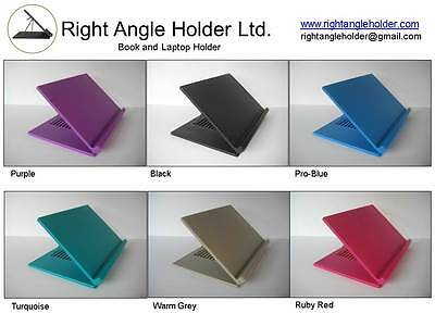 book holder, laptop stand, slant board, right angle holder 20 angle settings