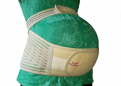 TOP GLORY Maternity Belt for Pregnancy Plus Size Belly Band Back Support Girdl