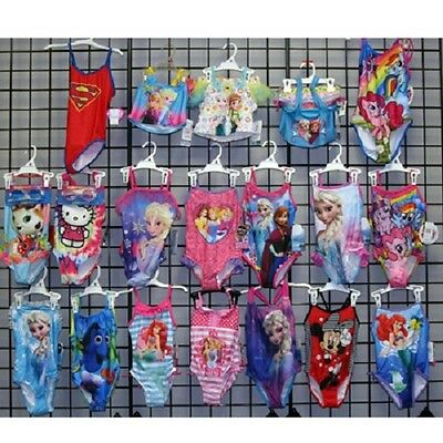 Girl sizes 4-14 Licensed swimsuits 36pcs. [GLIC410SWIM]
