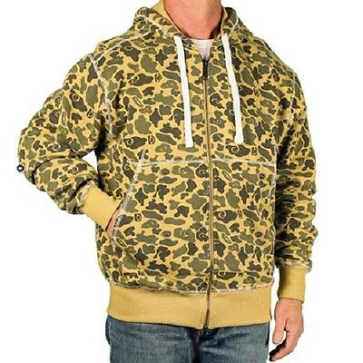 FULL ZIP HOODED CAMO FLEECE 6pcs. [VE 86113B]