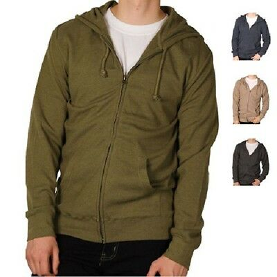 MENS FULL ZIP THERMAL HOODY 18pcs. [VE 8167]