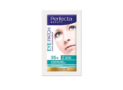 Perfecta Beauty HYDROGEL EYE PATCHES 35+ Smoothing Expression Wrinkle 2 Patches