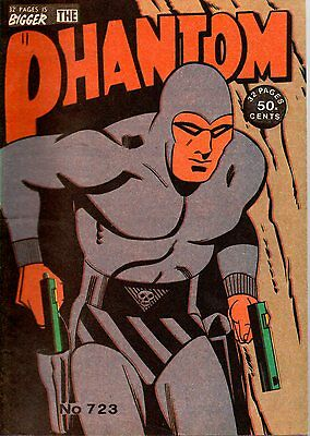 Phantom Comic Issue # 723 - Collectible Comic Book - Very Good Condition