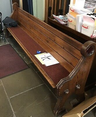 Original Victorian Church Pews Lovely Patina