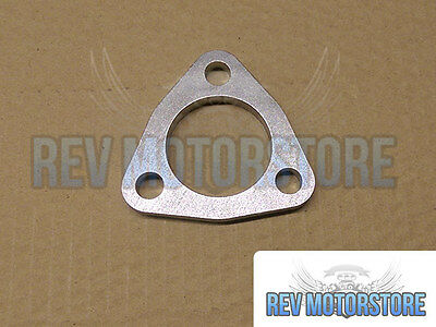 """46mm 1.75"""" bore 3 Bolt 304 Stainless Steel exhaust Flange 8mm Thick reapir"""