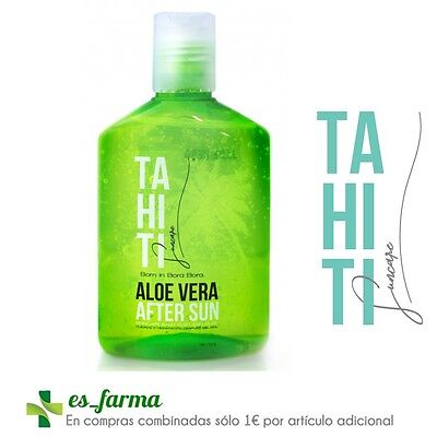Tahiti Suncare Aloe Vera Aftersun 250Ml After Sun Balsamo Post Solar