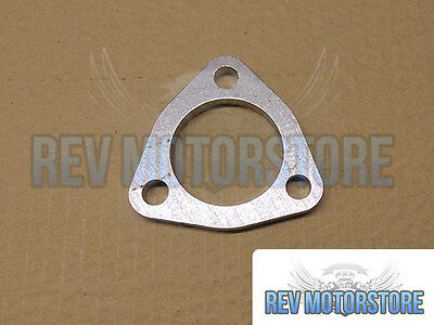 """52mm 2"""" 3 Bolt 304 Stainless Steel Exhaust Flange 8mm Repair"""