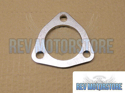 """58mm 2.25"""" 3 Bolt 304 Stainless Steel t304 exhaust Flange 8mm repair 2 1/4"""" bore"""