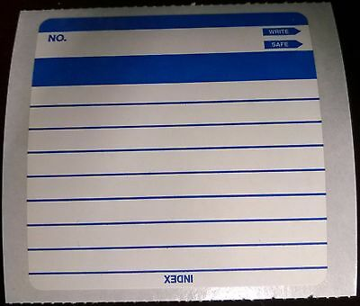 "90x Index Labels, 3.5"", 5.5"" Floppy Disk Labels Multi-Purpose NEW OLD STOCK"