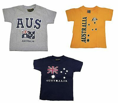Children Australian T Shirt Souvenir Gift 100% Cotton Sydney