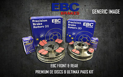 New Ebc Front And Rear Brake Discs And Pads Kit Oe Quality Replace - Pd40K1738