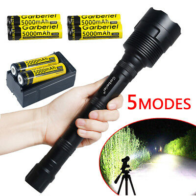 120000Lumens 5-mode LED 12*T6 Tactical Flashlight Torch Super Bright Hunting USA