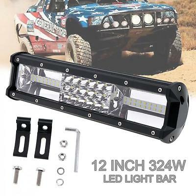 32000LM 324W Bar 12inch 7D Philips Led Work Light Comb LED Offroad ATV Headlamp