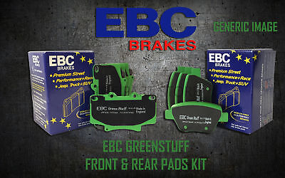New Ebc Greenstuff Front And Rear Brake Pads Kit Performance Pads Padkit1208